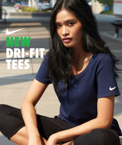 Nike Scoop Neck Tee  Nike Tees in Navy, Red, Blue, White Anthracite (Charcoal) and Black.  Ready for your Company or Club logo. First class for corporate events and smart  casual employee uniform packages. From $44.00 (20 pcs) ex GST FreeCall 1800 654 990