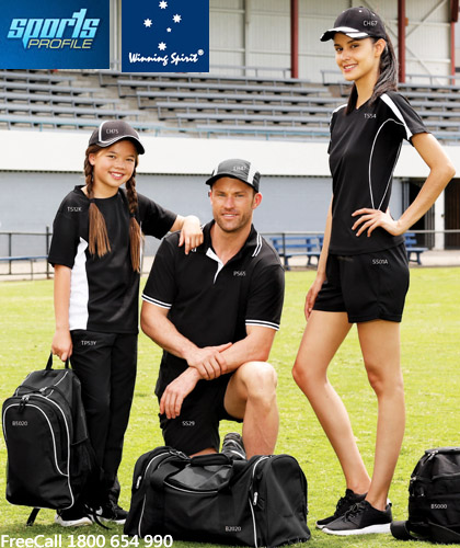 Fantastic Winning Spirit training tees, caps and tops for sporting clubs and schools at affordable prices. Great Brands. Great Prices. Free Call 1800 654 990